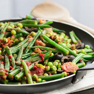 Green Beans, Peas & Parma Ham