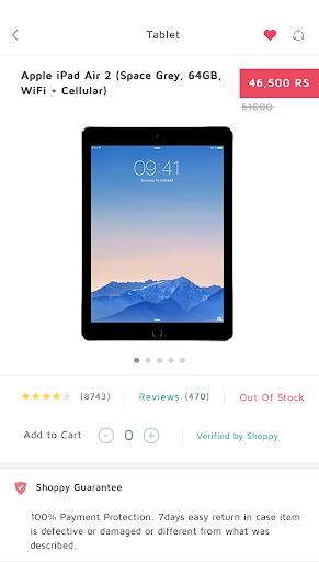 Shoppy UI APP TEMPLATE|玩程式庫與試用程式App免費|玩APPs