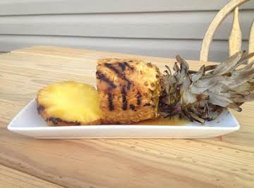 Tangy Grilled Whole Pineapple