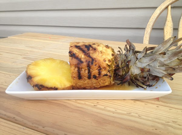 Tangy Grilled Whole Pineapple Recipe
