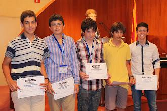 Photo: Ganadores de la prueba individual