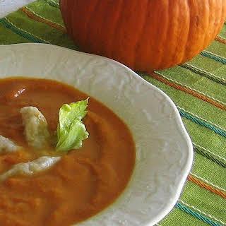 Polish Pumpkin Soup (Zupa z Dyni).