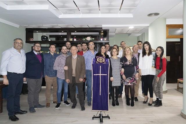 Junta directiva de la Cofradía del 'Paso Morao' de Albox.