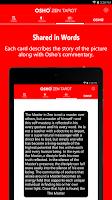 Screenshot of Osho Zen Tarot