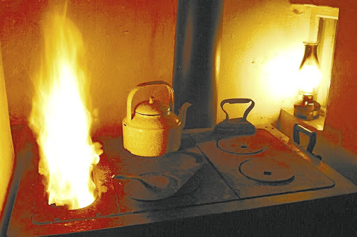 An old-fashioned coal stove provided warmth and nostalgic moments for many growing up in the townships and, unlike modern gadgets, was built to last.