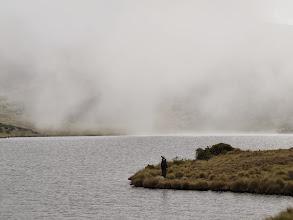 Photo: Ken fishing at Lake Eillis