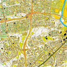 Photo: Helsinki, Oulunkylä area. Created with Karttapullautin from the open data of the National Land Survey of Finland (https://tiedostopalvelu.maanmittauslaitos.fi/tp/kartta)