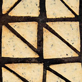 Black Sesame–Brown Sugar Shortbread