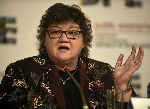 If it's not one thing, it's another: Lynne Brown in the firing line, again. Picture: FREDDY MAVUNDA