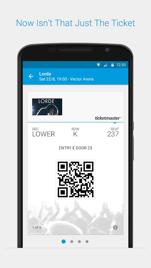 Ticketmaster NZ Event Tickets- screenshot