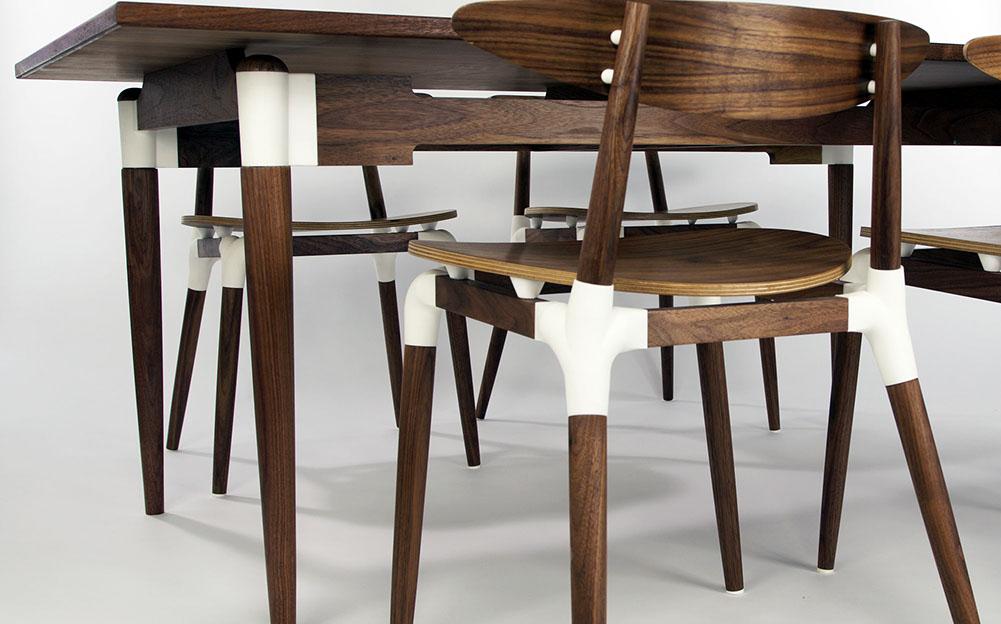 Каждый компонент имеет свою функцию, и именно здесь дизайн объединяет традиционные навыки и технологии.