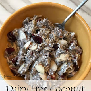 Dairy Free Coconut Chia Breakfast Pudding.