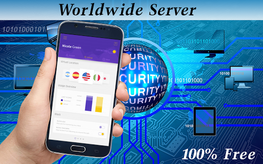 Vpn  Free Unlimited Proxy Master 1.0 screenshots 1