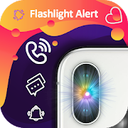 Flash Alert on call and sms with color APK