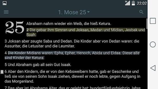 Bibel. Lutherbibel (1912) Screenshot
