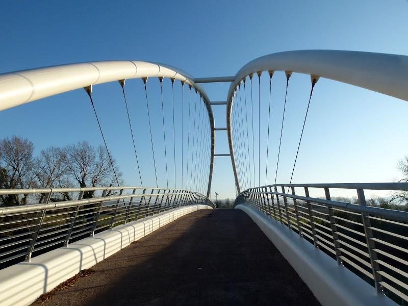ponte pedonale di pilotto