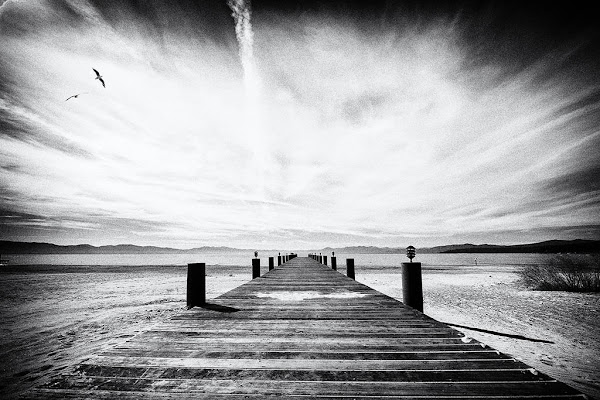 Pontile a Lake Tahoe  di Marco Tomei
