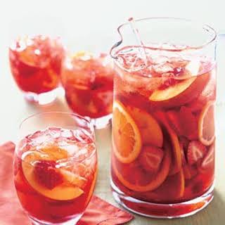 Strawberry and Peach Sangria.