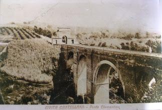 Photo: Ponte Clementino. Inizi '900.