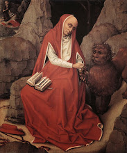 Photo: St Jerome and the Lion, c. 1450