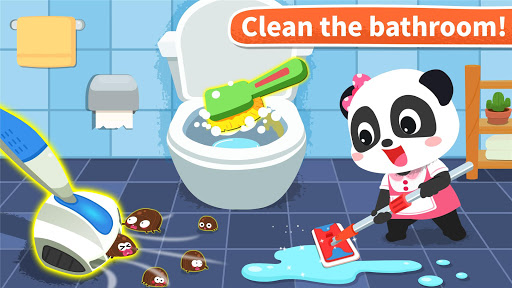 Baby Panda' s House Cleaning  screenshots 11