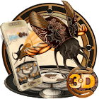 3D Steampunk Tech Beetle Theme icon