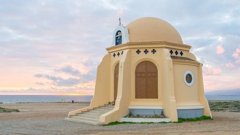 La ermita de Torregarcía en una imagen extraída de Filming Almería.
