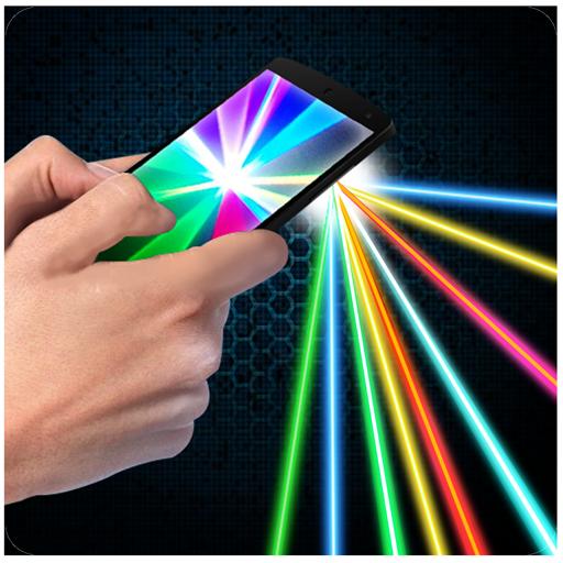 レーザーポインタ×2 冗談 模擬 App LOGO-硬是要APP