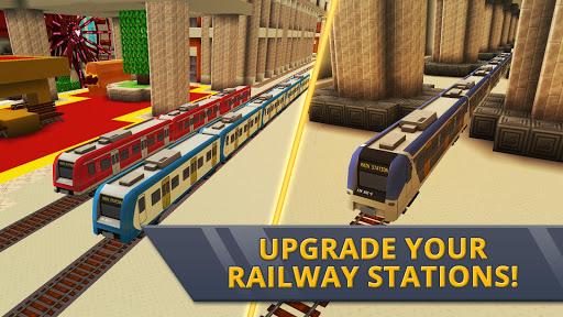 Railway Station Craft: Magic Tracks Game Training 1.0-minApi19 screenshots 2