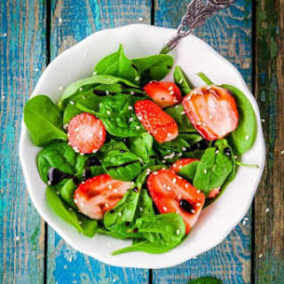 Homemade Balsamic Vinaigrette & And Anti-inflammatory Salad.