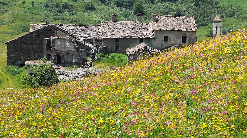 Gran Croce, borgo abbandonato, Moncenisio di brunosma