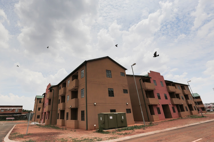 Another housing project stands empty in Tembisa