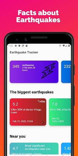 Earthquake Tracker - Latest quakes, Alerts & Map 3.0.1 screenshots 3