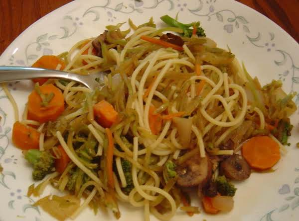 Broccoli Slaw Lo Mein Recipe