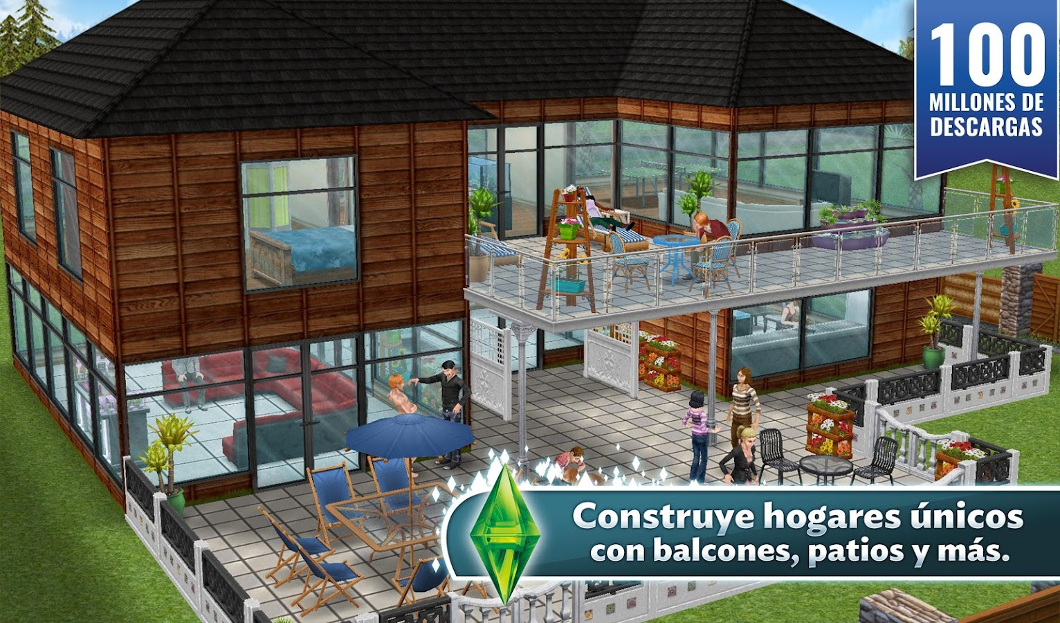 Los Sims™  FreePlay - screenshot