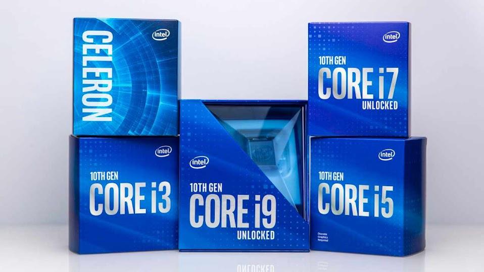 Nuevos procesadores Intel Comet Lake 2020