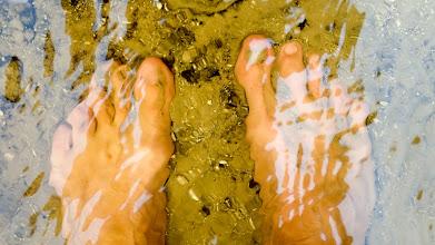 Photo: Sharon's feet