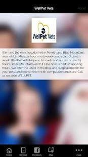 WellPet Vets - náhled