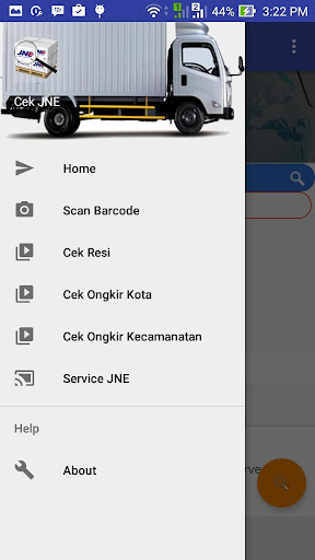 Cek Resi JNE Barcode Scan for Android