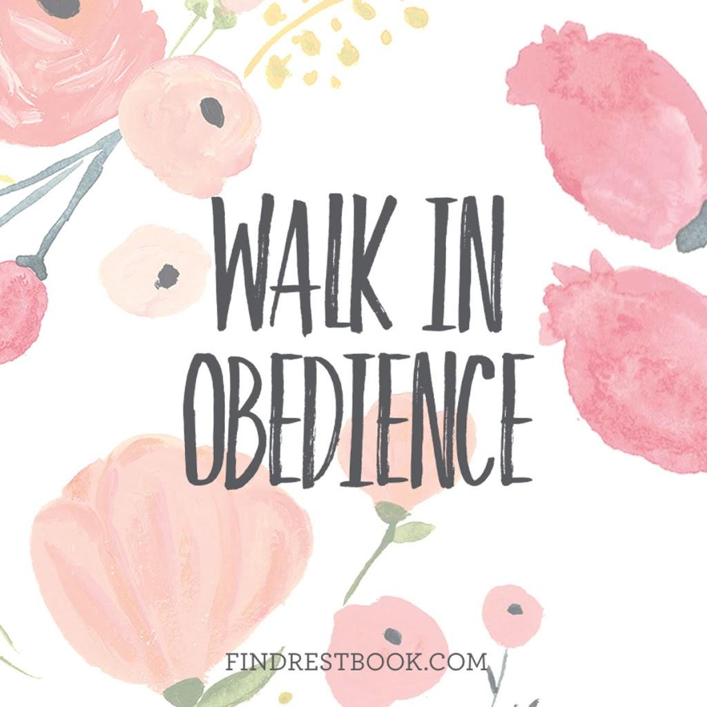 WalkInObedience