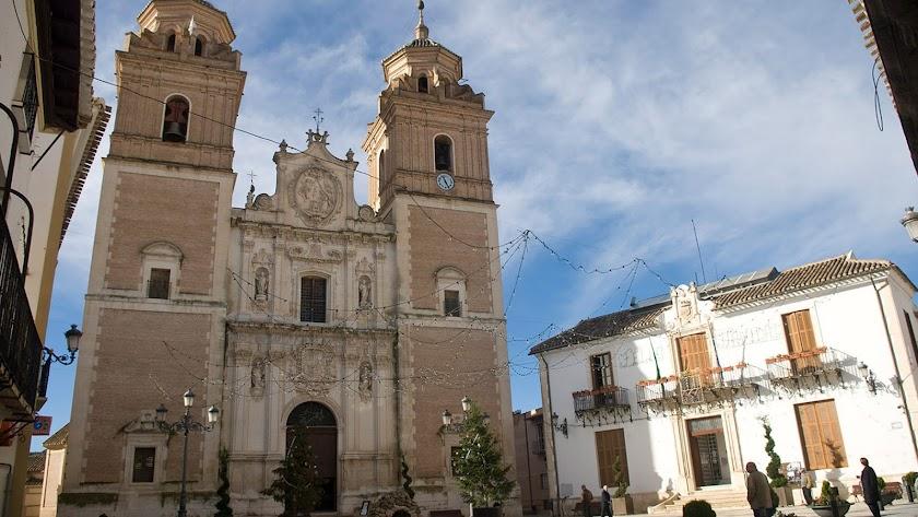 Iglesia de la Encarnación de Vélez Rubio.
