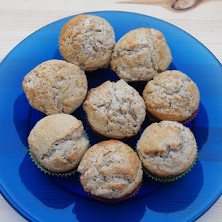 Cinnamon Vanilla Muffins for #muffinmonday.