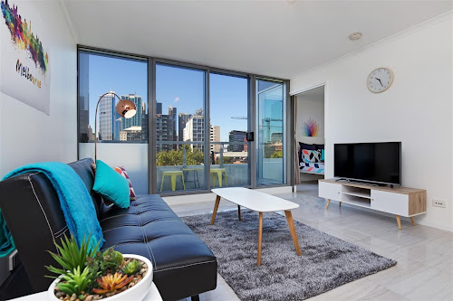 Photo of property at 504/118 Dudley Street, West Melbourne 3003