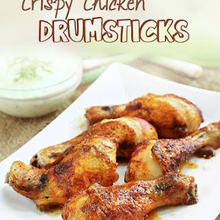 Crispy Chicken Drumsticks.