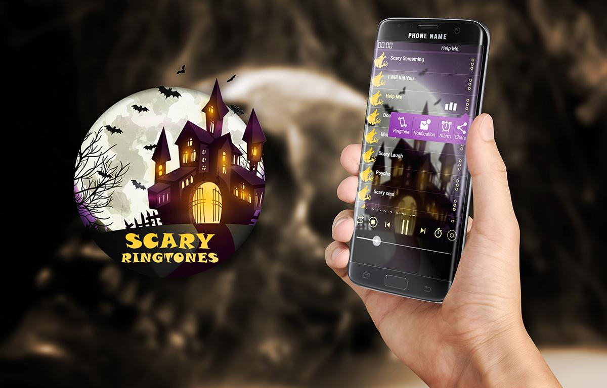 scary ringtones sounds 2017 ghost mp3 screenshot - Free Halloween Sounds Mp3