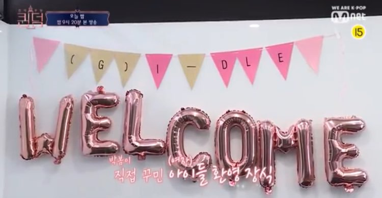 welcome poster (g)i-dle