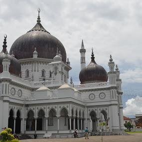 Zahir Mosque (since 1912) by Azzah Rahman - Buildings & Architecture Places of Worship ( kedah, menara alor setar, mosque, masjid zahir, malaysia )