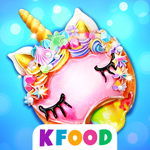 Unicorn Donuts: Cooking Games For Girls