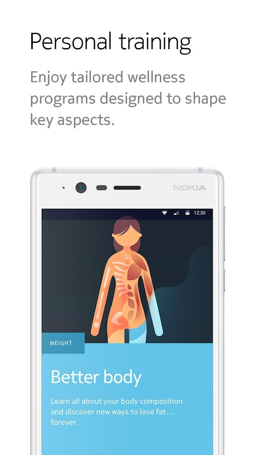 Nokia Health Mate – скриншот