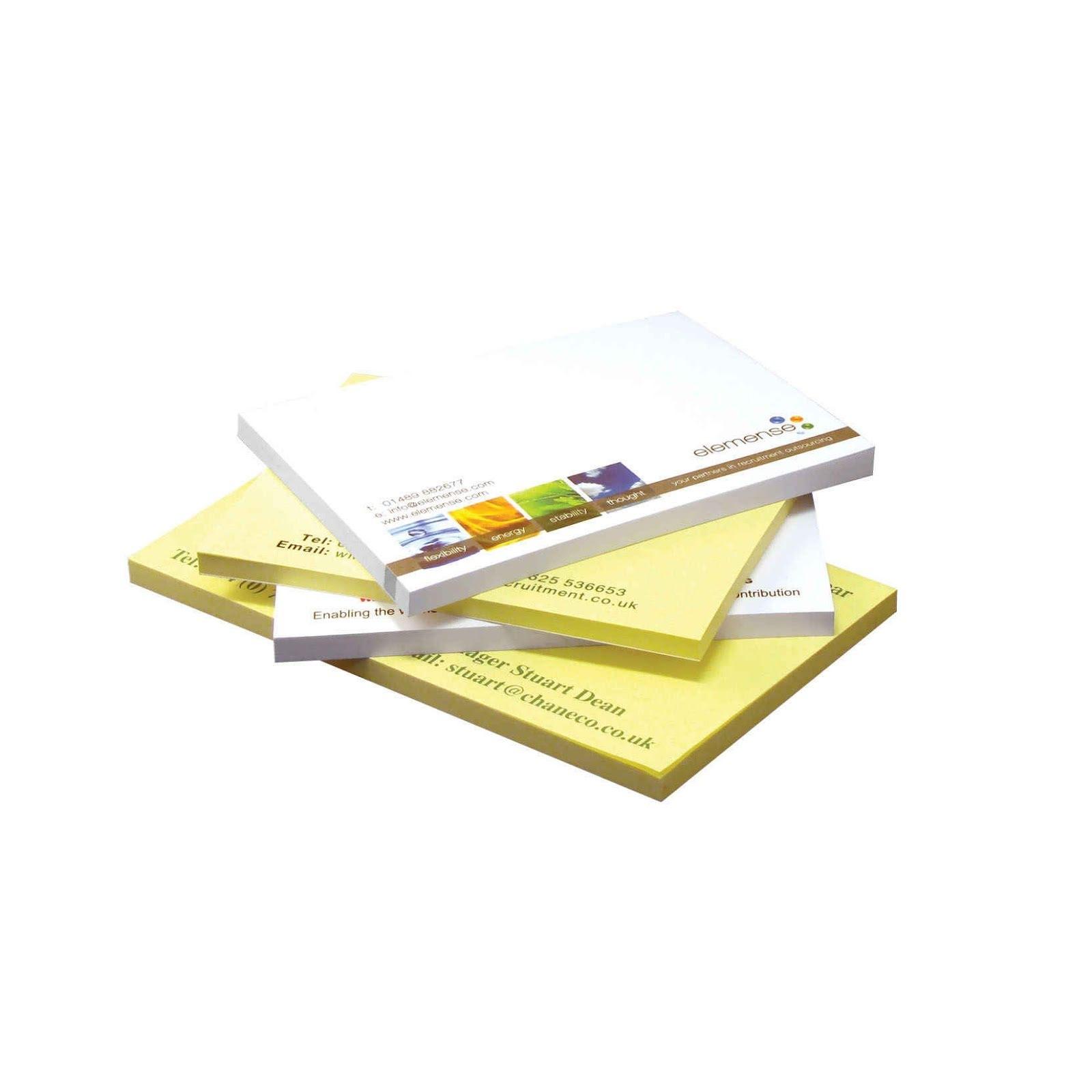 Recycled Sticky Notes Branded